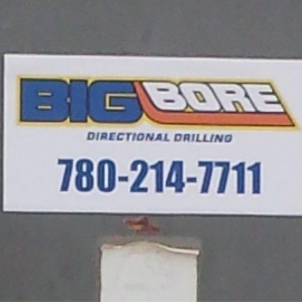 big bore door sign