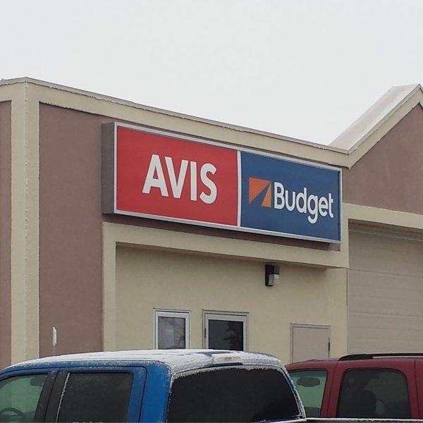 budget lighted signage