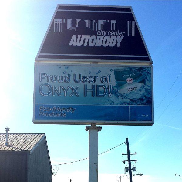pylon city center autobody
