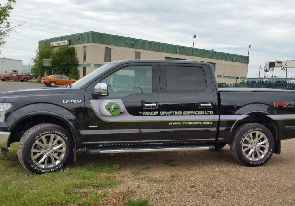 TVSMOR Truck Decals
